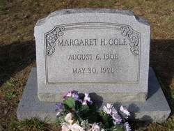 Margaret Hulda <I>Clark</I> Cole