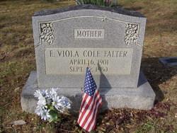 Effie Viola <I>Cole</I> Falter