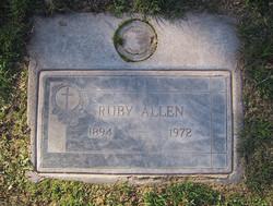 Ruby Allen