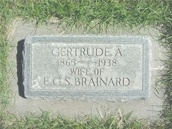 Gertrude Agnes <I>Woodruff</I> Brainard
