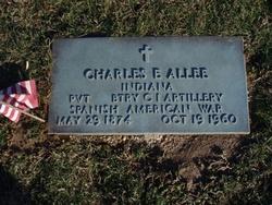 Pvt Charles E Allee