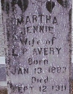 Martha Jennie Avery