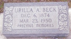 Urilla A. Beck