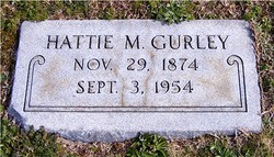 Hattie <I>Massey</I> Gurley