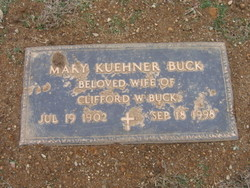Mary <I>Kuehner</I> Buck