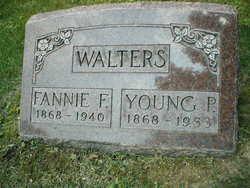 Fannie Frances <I>Ashley</I> Walters