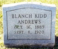 Marie Blanche <I>Kidd</I> Andrews