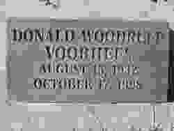 Donald <I>Woodruff</I> Voohreas