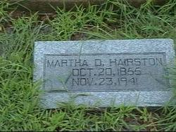 Martha Louise <I>Dodd</I> Hairston