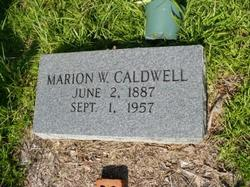 Marion Wilson Caldwell