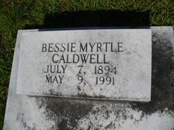 Bessie Myrtle Caldwell