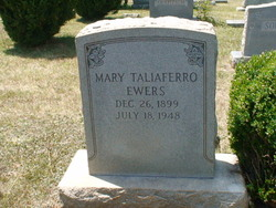 Mary <I>Taliaferro</I> Ewers