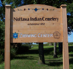 Nottawa Indian Cemetery