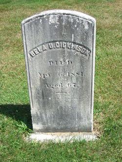 Bela Uriah Dickinson
