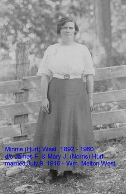 Minnie <I>Hurt</I> West