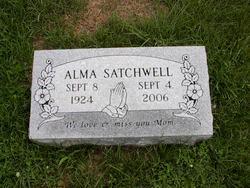 Alma Louise <I>Miles</I> Satchwell