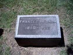 Frances J <I>Cronk</I> Fonda