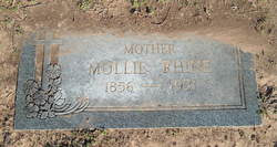 "Mary Virginia ""Mollie"" <I>Hooe</I> Rhine"