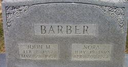Nora <I>Martin</I> Barber