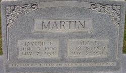 Taylor F Martin