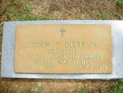 John F Pitts, Jr
