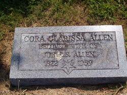 Cora Clarissa <I>Harl</I> Allen
