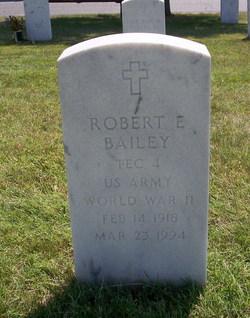Robert Edward Bailey