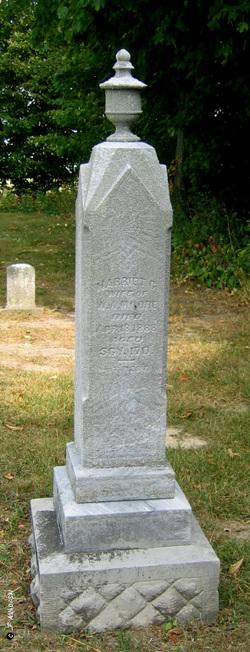 Harriet Cornelia <I>Higley</I> Moore
