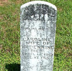 Caroline <I>Mitchell</I> Denning