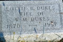 Lottie B. <I>Brown</I> Dukes