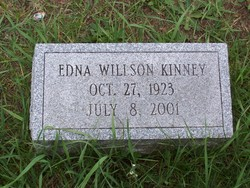 Edna <I>Willson</I> Kinney