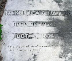 "Franklin Lewis ""Frank"" Howell"