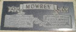 "Royce Vincent ""Cap"" Mowrey"