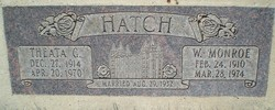 Winfield Monroe Hatch