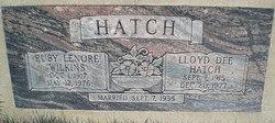 Lloyd Dee Hatch