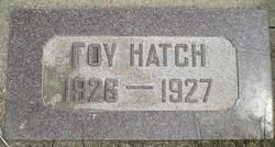 Foy Hatch