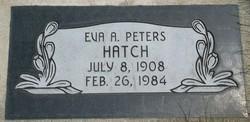 Eva Afton <I>Peters</I> Hatch