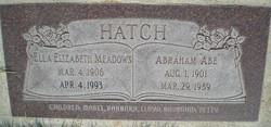 Ella Elizabeth <I>Meadows</I> Hatch