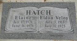 Elaine Eaton Hatch