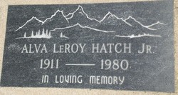 Alva Leroy Hatch, Jr