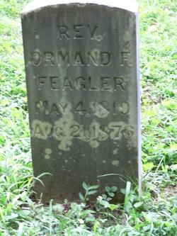 Rev Ormand Frederick Feagler