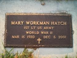 Mary Edna <I>Perrine</I> Hatch