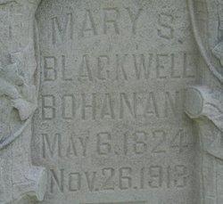 Mary S. <I>Blackwell</I> Bohanan