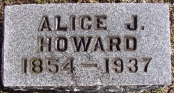 Alice J <I>Wheelock</I> Howard