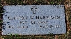 Clifton W Harrison