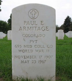 Paul E Armitage