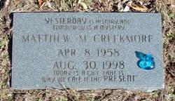 Matthew M. Creekmore