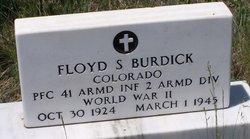 PFC Floyd S. Burdick