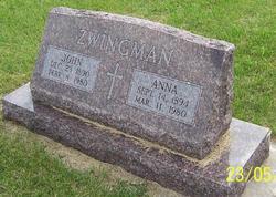 Anna <I>Schwabe</I> Zwingman