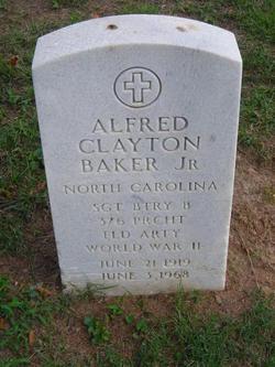 Alfred Clayton Baker, Jr